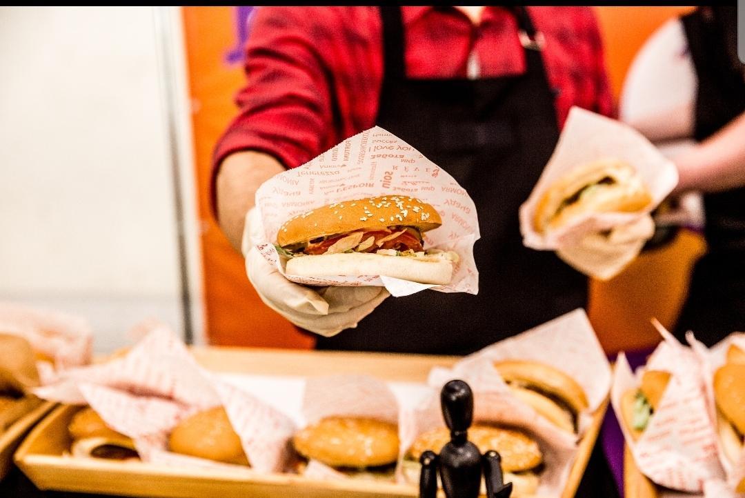 Вкусные бургеры на заказ