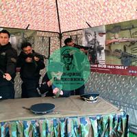 Выставка оружия ВОВ