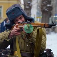 Аренда военной фотозоны «ВОВ»