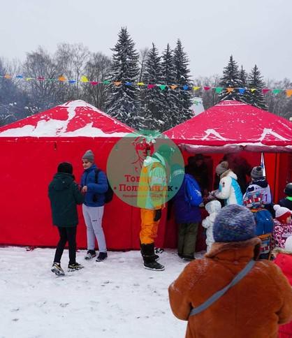 Аренда торговых палаток в Москве