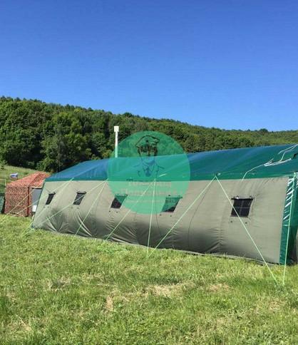 Шатер для полевого лагеря