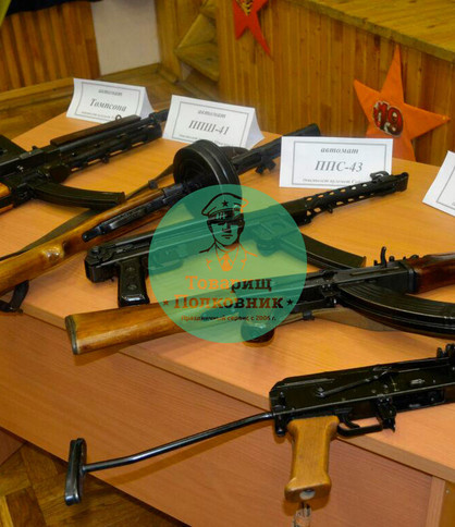 Военная выставка на мероприятие