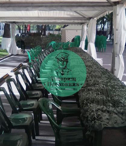 Аренда пластиковой мебели в Москве, аренда стульев на мероприятие