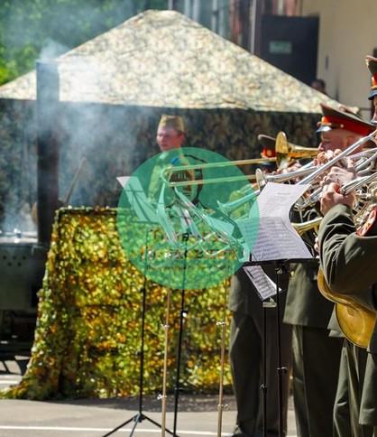 Военный оркестр на 9 мая, аренда полевой кухни, оркестр на 23 февраля