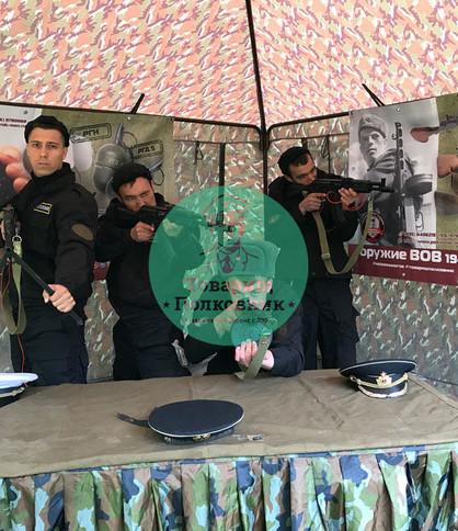 Выставка оружия на мероприятие