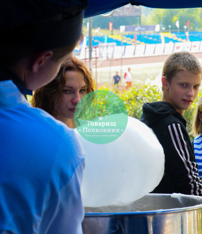 Сладкая сахарная вата в Москве заказать