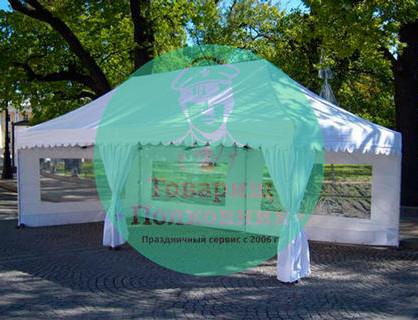 Аренда и прокат шатров в Москве
