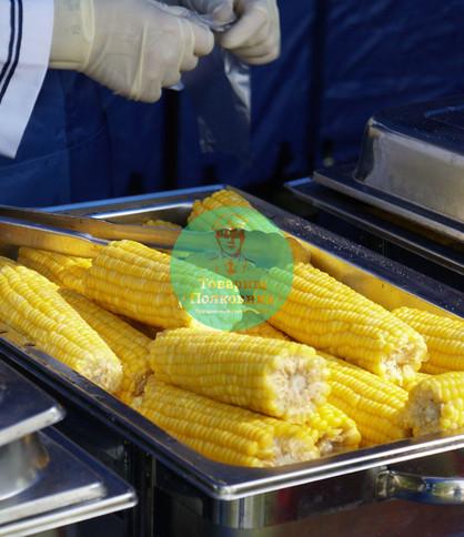 Вареная кукуруза на мероприятие, аренда пароварки в Москве
