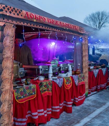 Аренда шатра на ярмарку и Масленицу в Москве