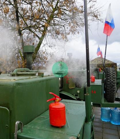Полевая кухня в Москве, КП 125 в аренду, полевая кухня Товарищ Полковник