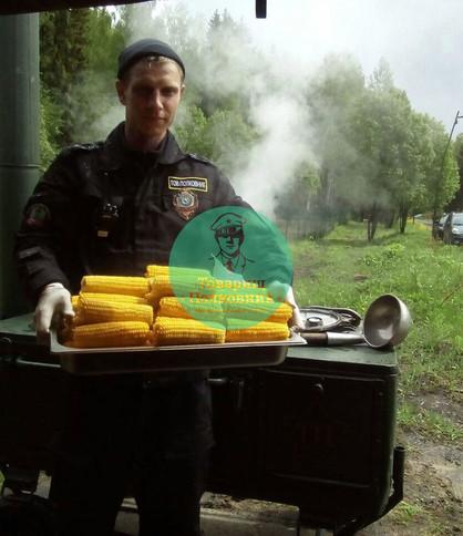 Доставка вареной кукурузы. Выездной кейтеринг в Москве