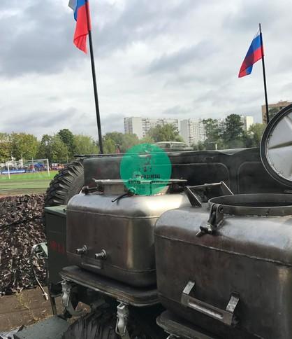 Полевая кухня Москва на мероприятие 23 февраля и 9 мая, КП125
