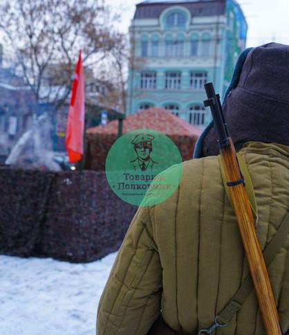 Военная анимация на 9 мая и 23 февраля в Москве
