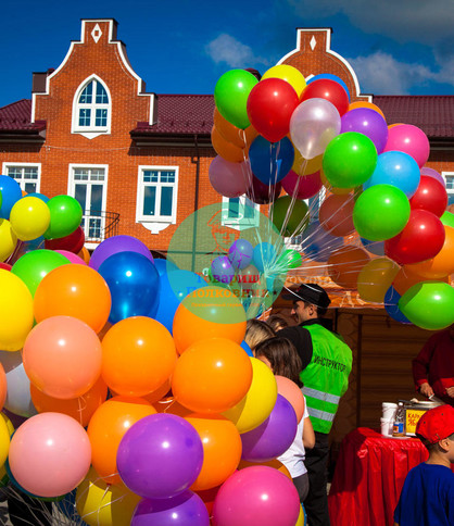 шары на праздник, доставка шаров в Москве