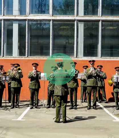 Военный оркестр в Москве на 9 мая и 23 февраля