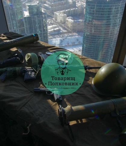 Выставка оружия на меропритие, аттракционы в аренду в Москве