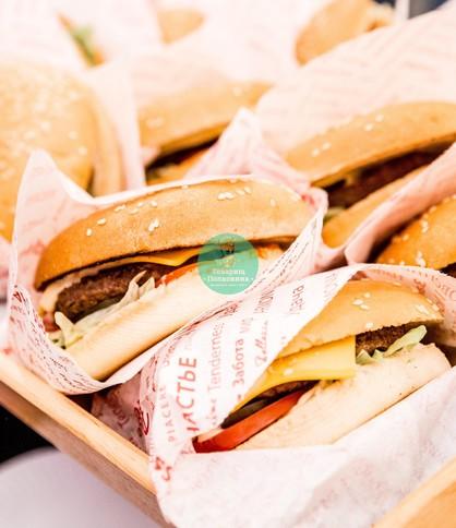 Заказать бургеры на мероприятие
