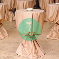 Текстиль для коктейльного стола «капучино»