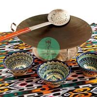 Текстиль для фуршетного стола «восточный»