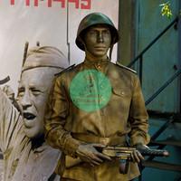 Живая статуя